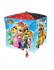 Super Mario Bros™- neliönmuotoinen ilmapallo 38 x 38 cm