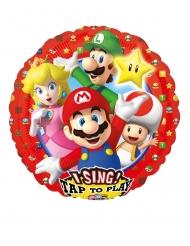 Super Mario Bros™- musikaalinen ilmapallo 71 x 71 cm