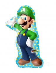 Alumiininen Luigi Super Mario Bros™- ilmapallo 50 x 96 cm