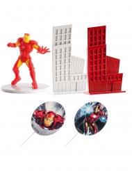 Iron Man™-kakkukoristeet 8 cm