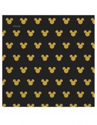 Mickey Gold™- paperiset servetit 33 x 33 cm 20 kpl