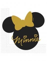 Minnie Gold™- servetit 20 kpl 33 x 33 cm