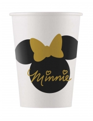 Minnie Gold- pahvimukit 160 ml 8 kpl