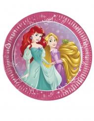Disney- Prinsessat Unelmien Päivä™- pahvilautaset 8 kpl 20 cm