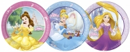 Princesses Disney Dreaming™- pahvilautaset 23 cm 8 kpl kolme eri mallia