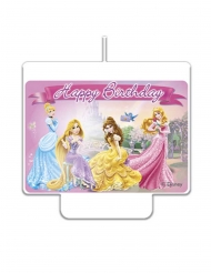 Disney Prinsessat™- Happy Birthday-kynttilä 9 x 7 cm