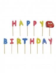 Autot™- Happy Birthday moniväriset kynttilät