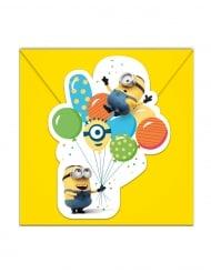 Kätyrit ballons party™- kutsukortit ja kirjekuoret 6 kpl