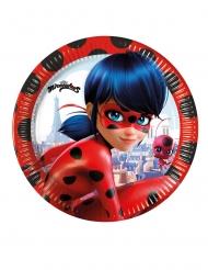 Miraculous Ladybug™ pienet pahvilautaset 20 cm 8 kpl