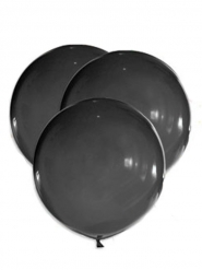 Jättimäiset mustat ilmapallot 47 cm 5 kpl