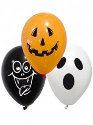 Lateksiset spooky- ilmapallot halloweeniksi 28 cm