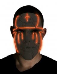 Musta LED- naamari aikuiselle