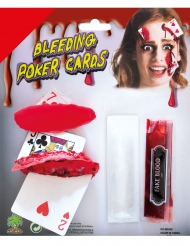 Veriset pelikortit- meikkisetti