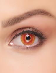 Monsterin tulehtuneet silmät- piilolinssit aikuiselle