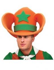 Cowboyn vaahtomuovinen hattu aikuiselle