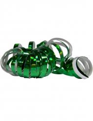 Vihreä holograafiset serpentiinisullat 2 kpl 4 m