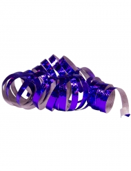 Violetit holograafiset serpentiinirullat 4 m 2 kpl