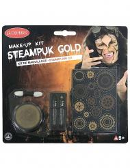 Kullanvärinen steampunk- meikkisetti