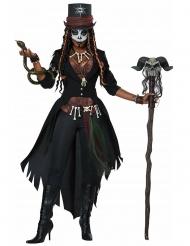 Voodoo- taikurin naamiaisasu naiselle