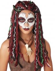 Voodoo- papittaren lettiperuukki naiselle