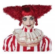 Psykopaattiklovnin punainen peruukki naiselle