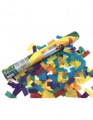 Värikäs konfettitykki 40 cm