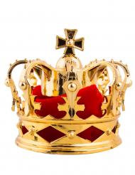 Punakultainen kruunu- hiuspinni