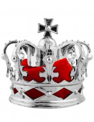 Hopeanvärinen minikruunu