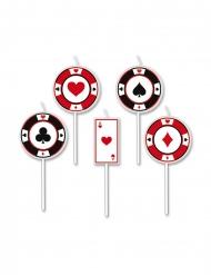 Pokerikynttilät 8 cm