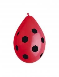 Lateksiset ja punaiset jalkapallo-ilmapallot 30 cm 10 kpl