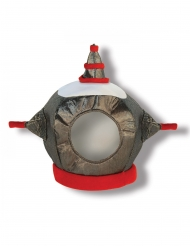 Robotin kankainen kypärä lapselle
