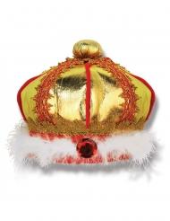 Kullanvärinen kruunu lapselle
