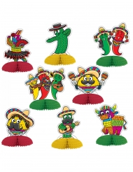 Fiesta mexicaine- paperikoristeet 10 cm 8 kpl