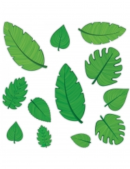 Vihreät pahvilehdet 10-30 cm 12 kpl