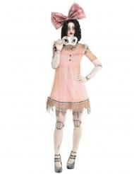 Ahdistava nuken naamiaisasu naiselle