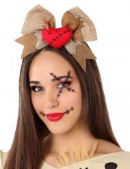 Voodoo- nuken hiuspanta aikuiselle