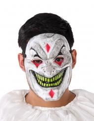 Klovnin demoninen PVC- naamari aikuiselle
