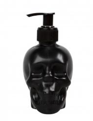 Musta pääkallo saippuapullo