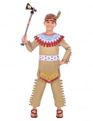 Intiaanin tiipii-asu pojalle
