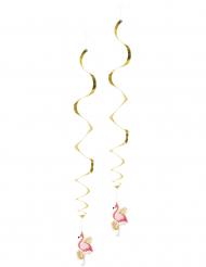 Flamingo- riippukoristeet 2 kpl 85 cm