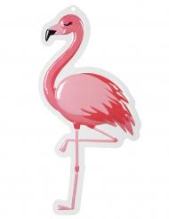 Flamingo- seinäkorite 50 x 30 cm