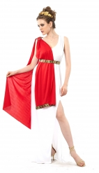 Plus-kokoinen roomalaisen jumalattaren naamiaisasu naiselle