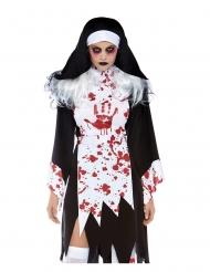 Tappajanunnan naamiaisasu naiselle halloween