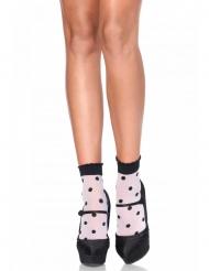 Pilkulliset sukat naiselle