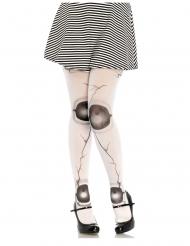 Nuken valkoiset sukkahousut naiselle