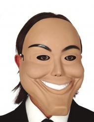 Psykopaatin hymyilevä pvc- naamari