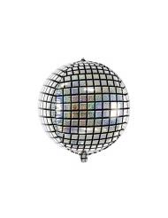 Alumiininen discopallo 40 cm