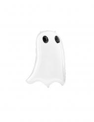 Valkoinen kummitusilmapallo 48 x 68 cm