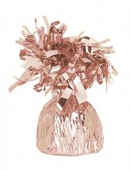Ruusukullanvärinen ilmapallopaino