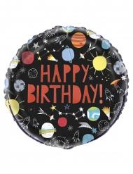 Happy Birthday- alumiininen ilmapallo 45 cm